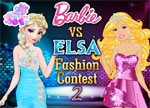Elsa vs Barbie 2