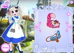 Dress Up Games :: Elsa in Wonderland